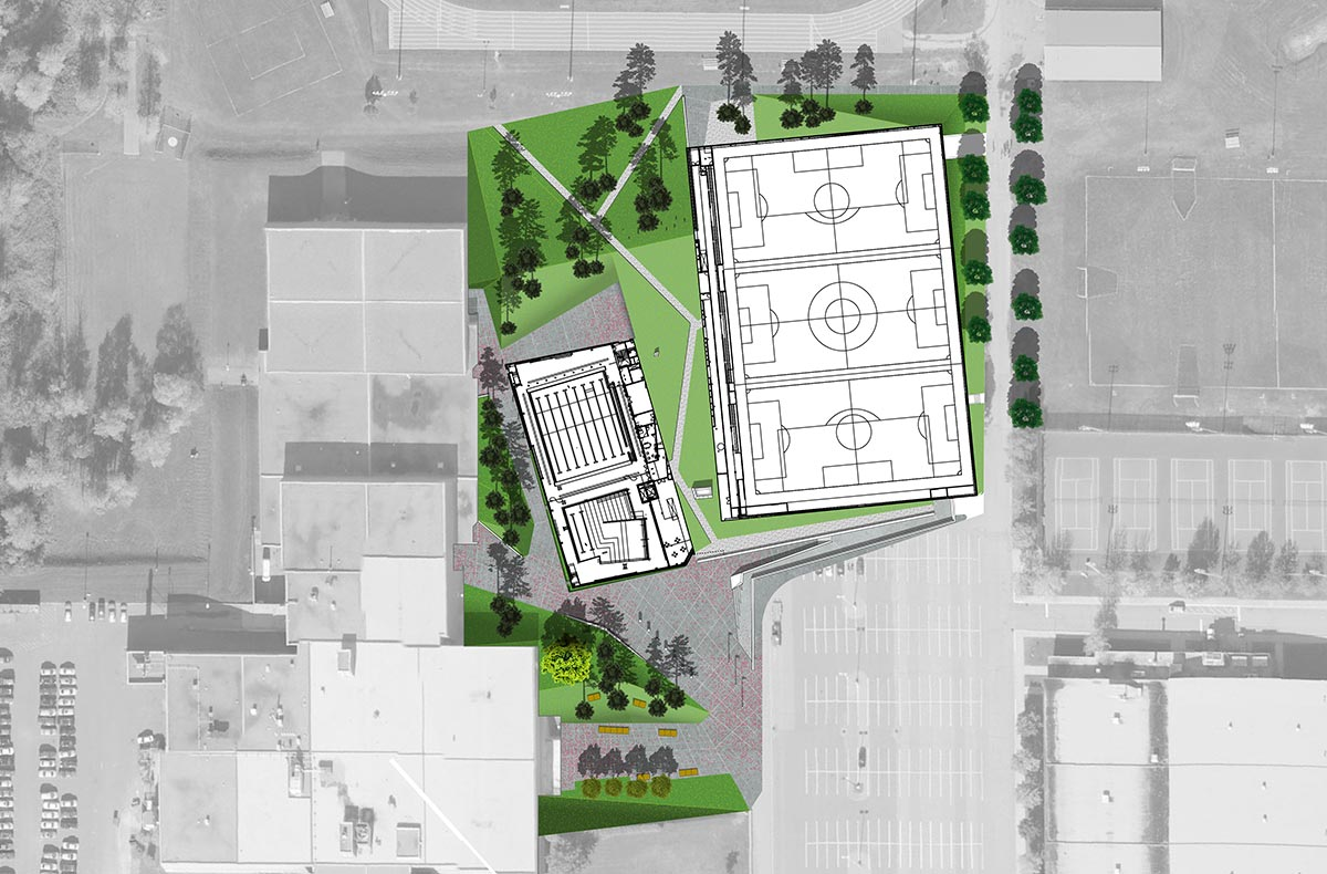 Complexe sportif arrondissement st laurent for Complexe sportif claude robillard piscine