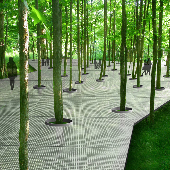 Parc hydro qu bec for Canadian society of landscape architects