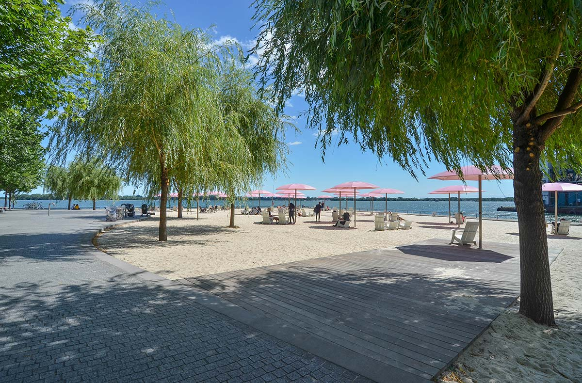 Sugar beach for Canadian society of landscape architects