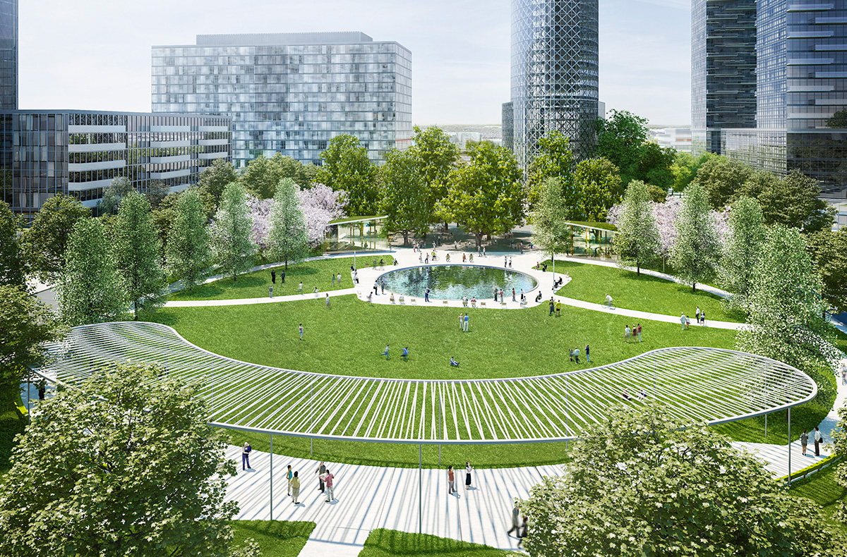 Vaughan Metropolitan Centre Central Park And Masterplan
